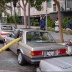 消火栓の側に車を止めるな!