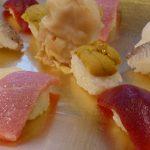 入学祝いは越前市の「新吾寿司」へ