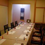 鯖寿司の萩さんでお食事会