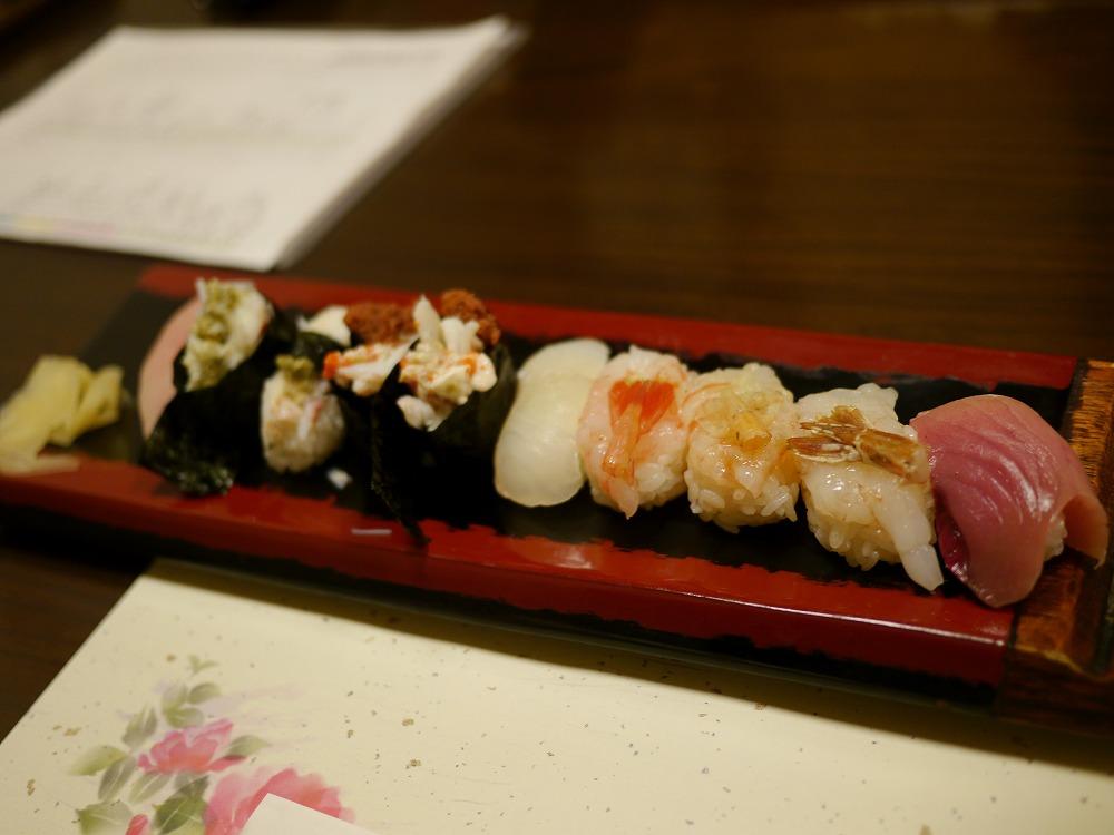 鯖江の勇寿司に行ってきた