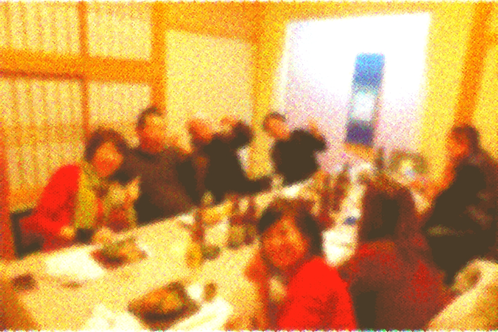 萩さんでクリスマス会