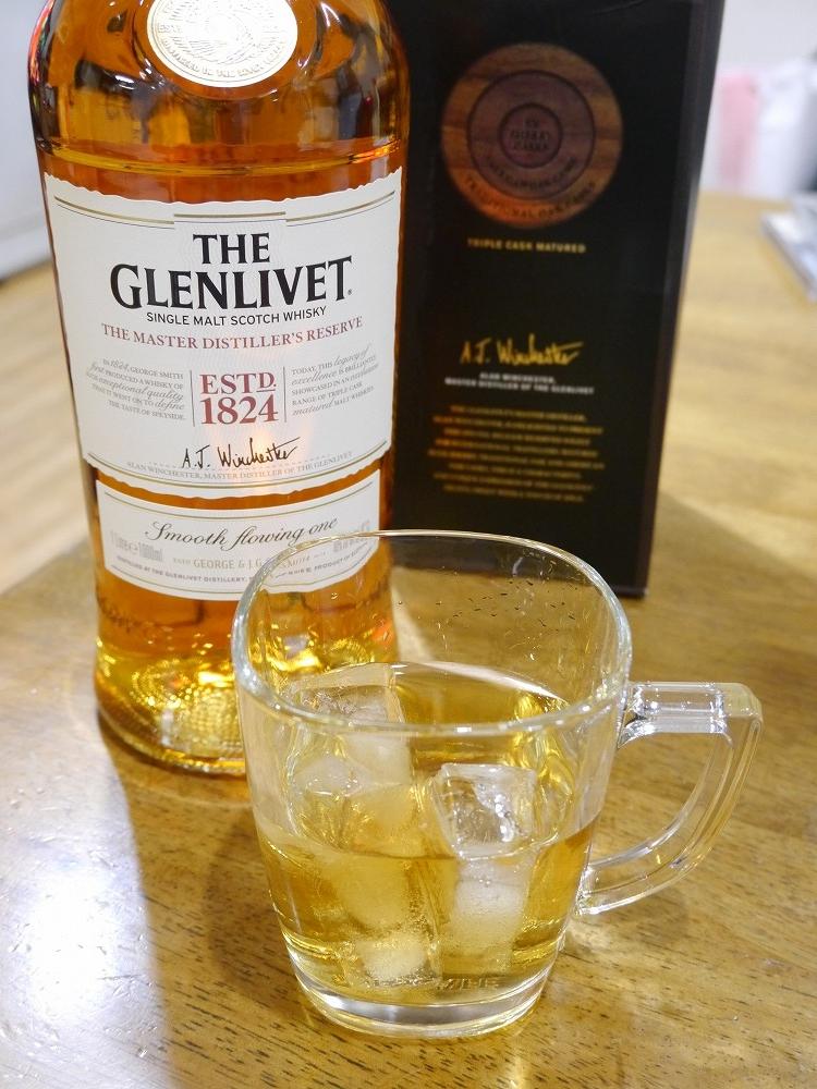 スコッチウイスキー「GLENLIVET」と今日の雑感
