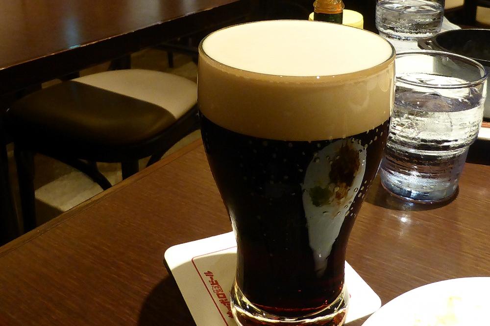 ライオンの黒ビール