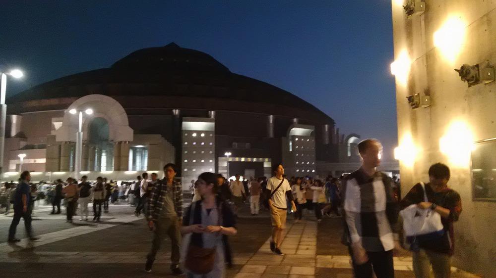 サンドーム福井のperfumeのコンサートに行ってきた