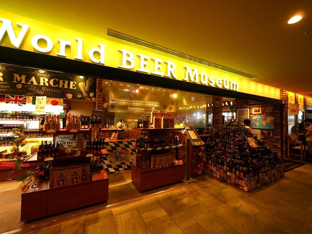 スカイホップバスに乗って東京ソラマチの世界のビール博物館に行ってきた