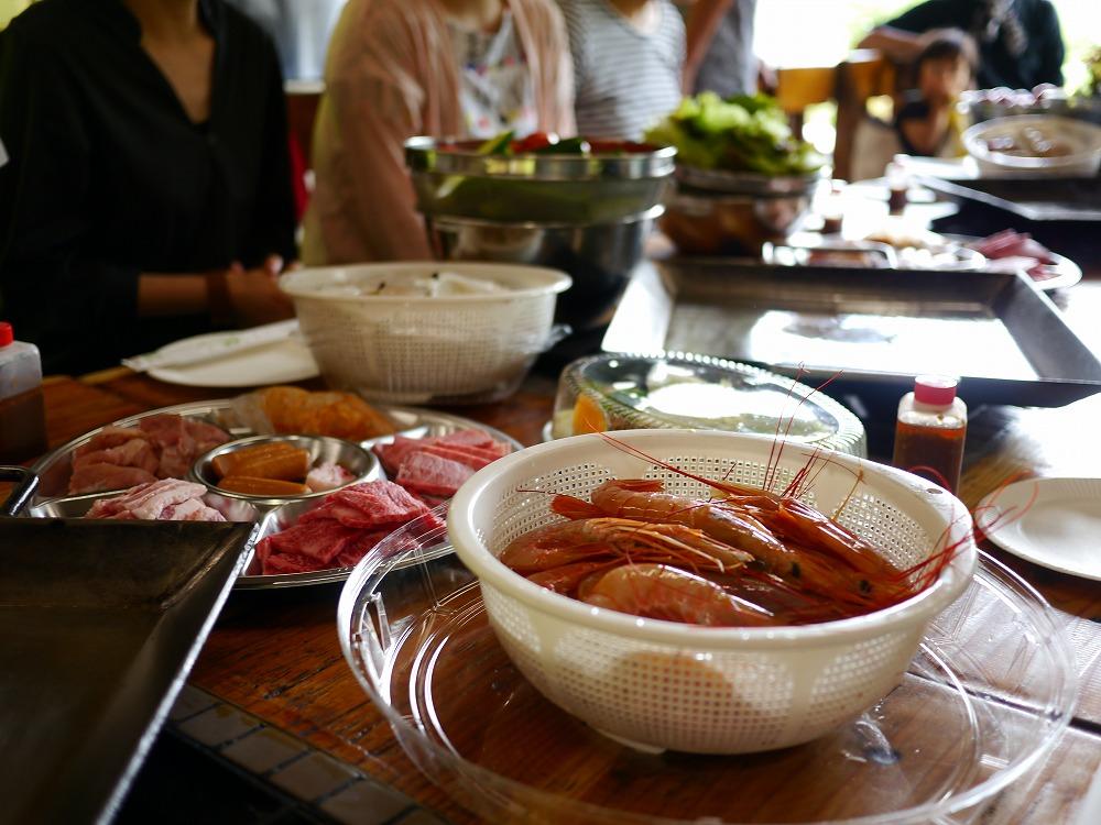 ラポーゼ河和田でバーベキューパーティをしてきた