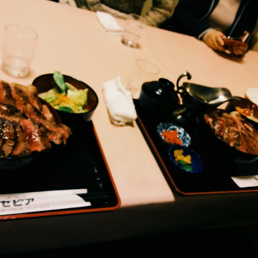 グリルセピアのステーキ丼!