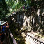 アンコール遺跡群のひとつ、ベン・メリア遺跡は荒廃の美学