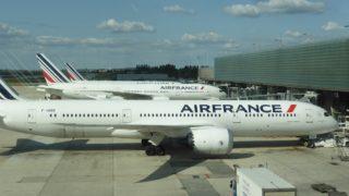 エールフランスでバルセロナへ到着した
