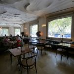 カサ・ミラにあるレストラン「La Pedrera」で食事をしてきた
