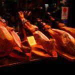 バルセロナのバーで生ハムを食べてきた